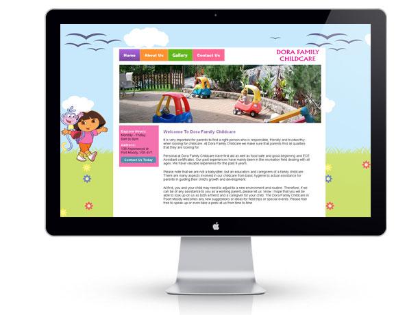 dorachildcare-website-portfolio